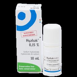 Hyabak Hypotonic Dry Eye Drops