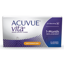 Acuvue Vita for Astigmatism...